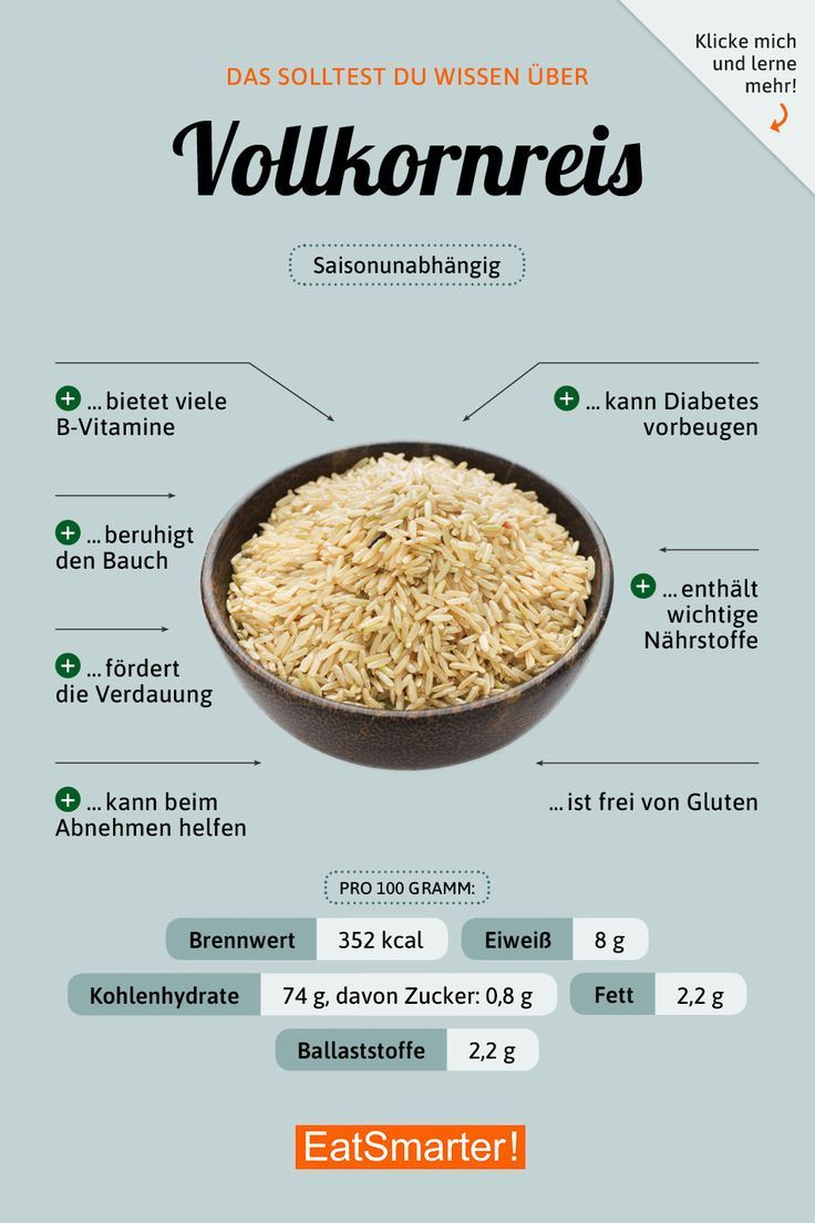 Vollkornreis #nutrition