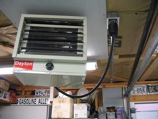 Electric Heater For Garage Tips And Ideas To Heat A Garage