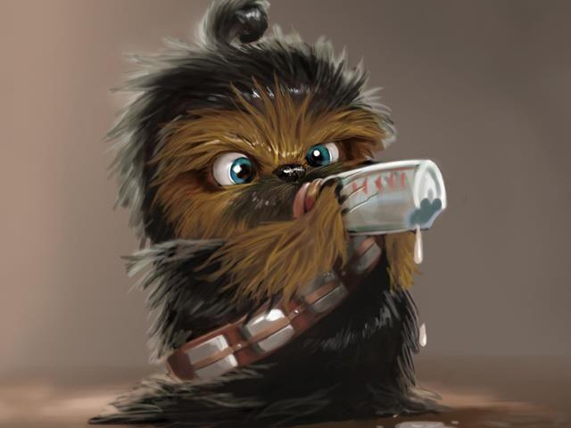 Baby Chewbacca Star Wars Pinterest Inspiration