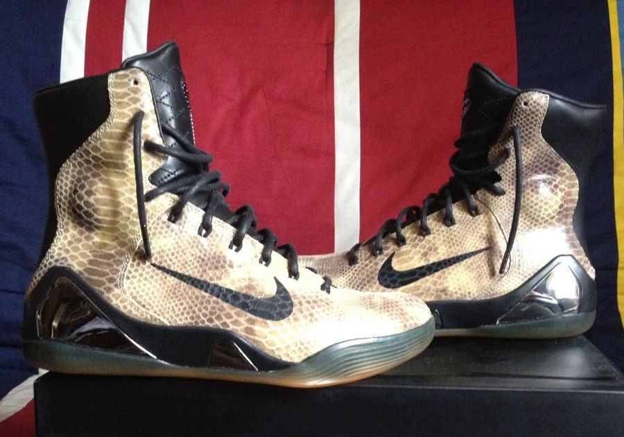 b217d5398c1b nike kobe 9 high ext qs snakeskin 01 Nike Kobe 9 High EXT QS Snakeskin