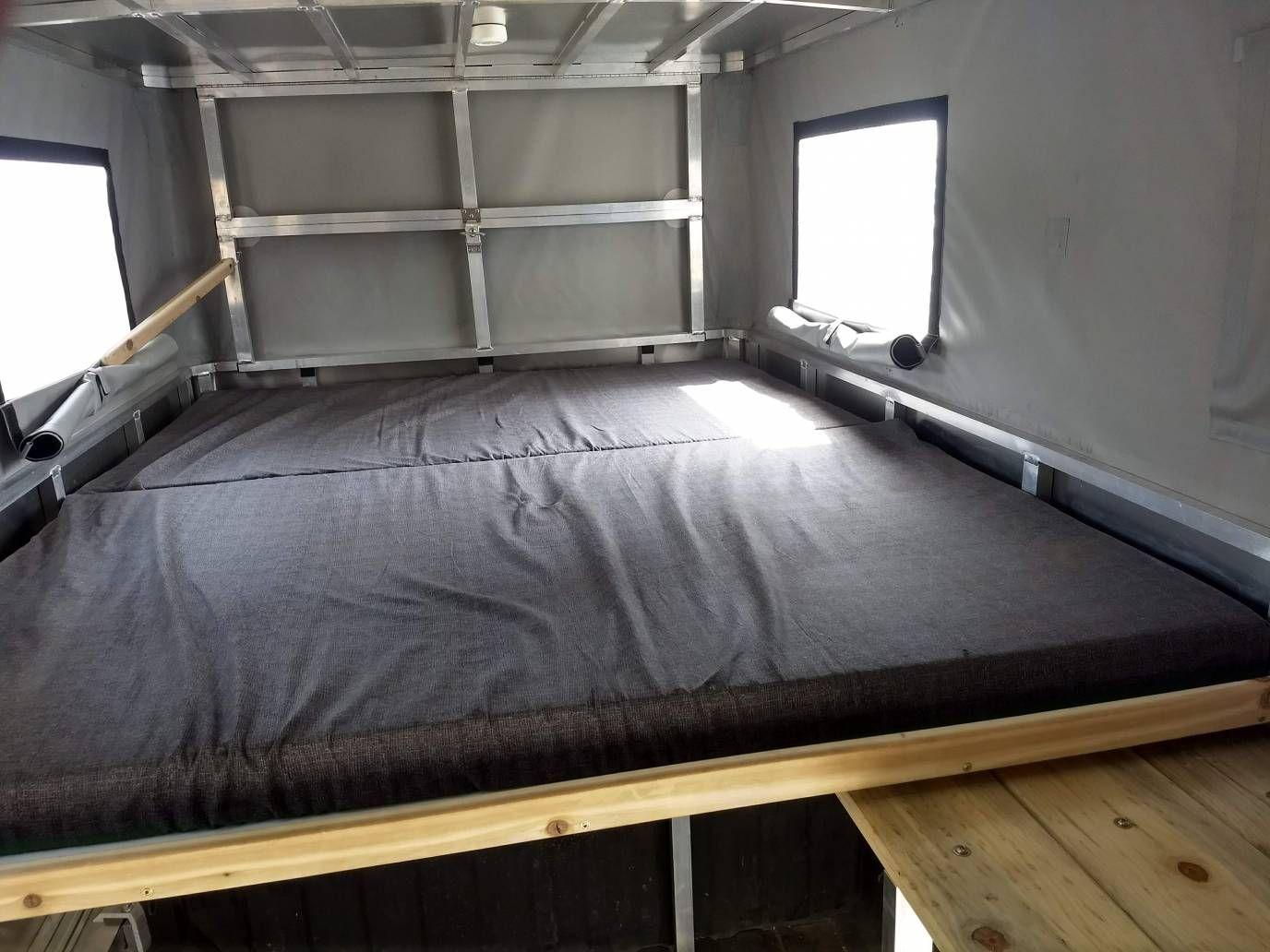 The Lightweight Pop Top Truck Camper Revolution Camper Shells Truck Camper Slide In Truck Campers