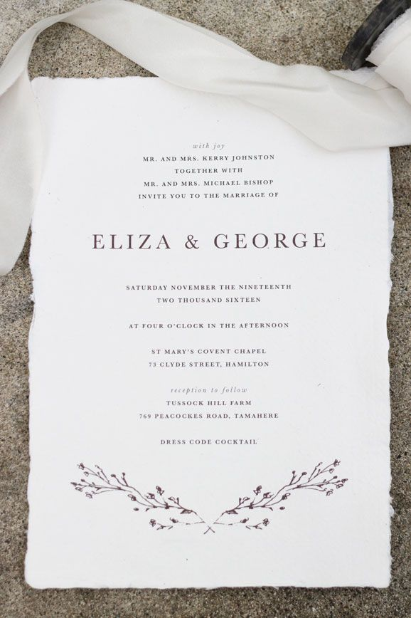 Just My Type | An invitation design studio based in New Zealand ...
