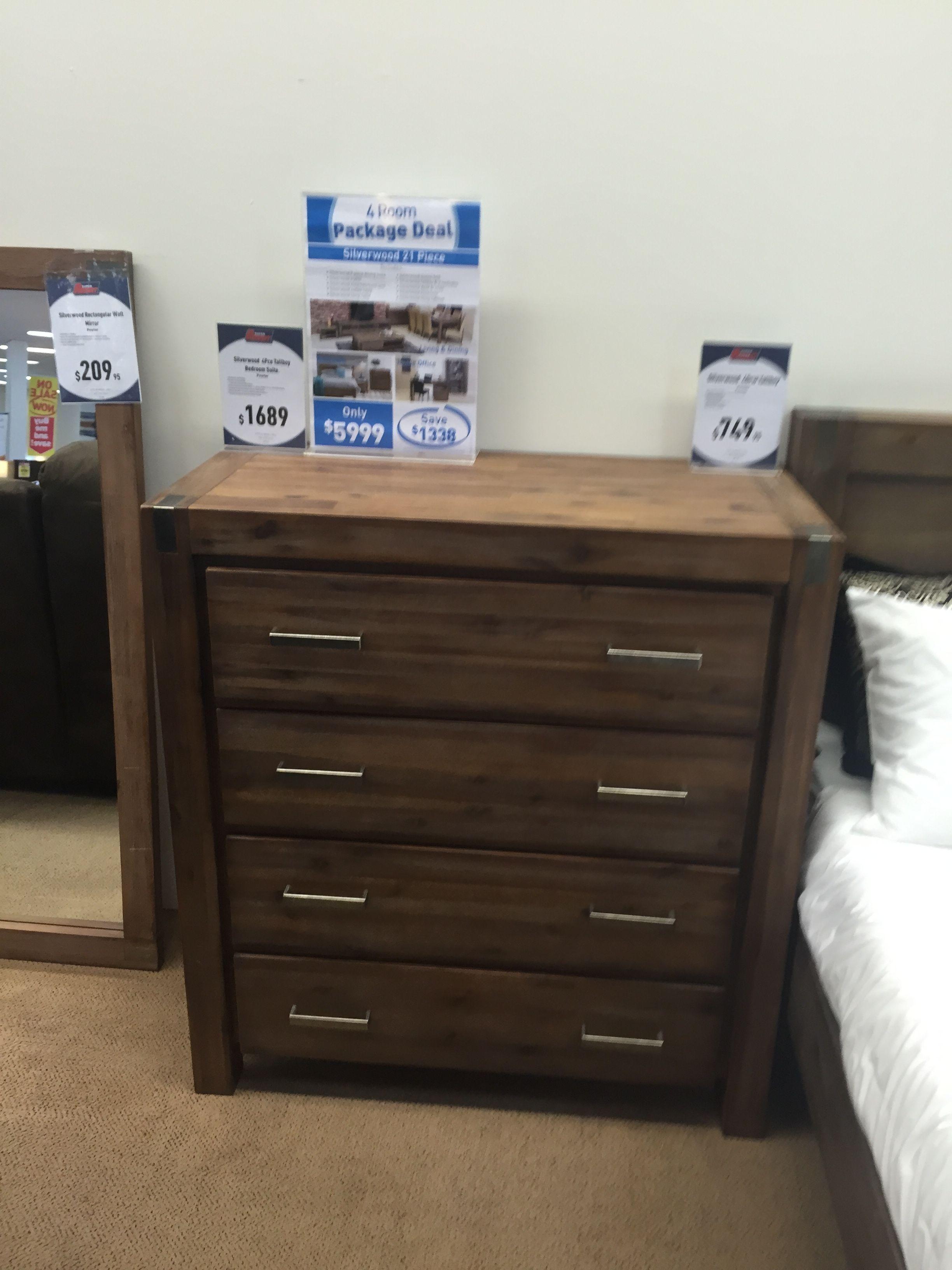Silverwood Dresser Super Amart Furniture Home Decor Dresser