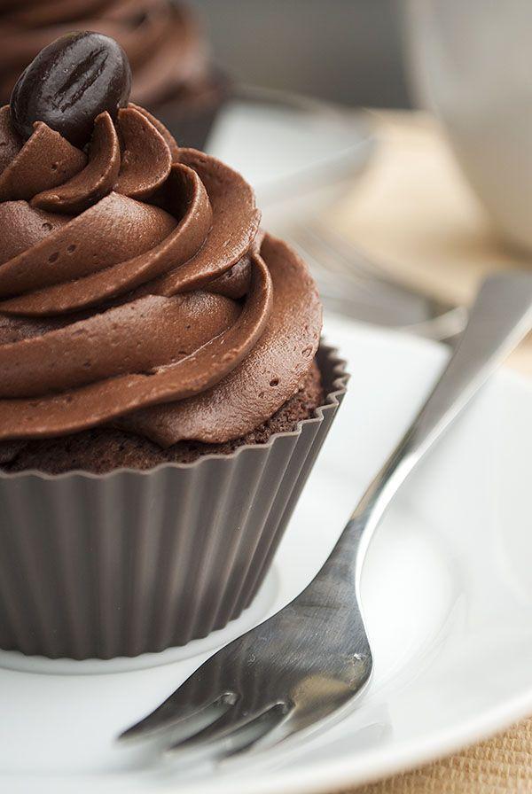 Schokoccino-Cupcakes #cupcakesrezepte