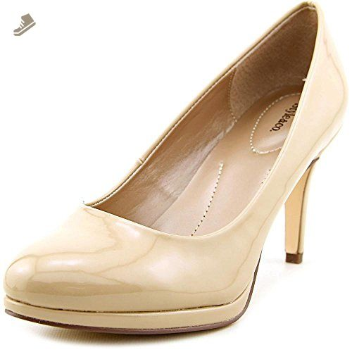 Style Co. Womens Pyxiee Pointed Toe Classic Pumps Gold Size 7.0
