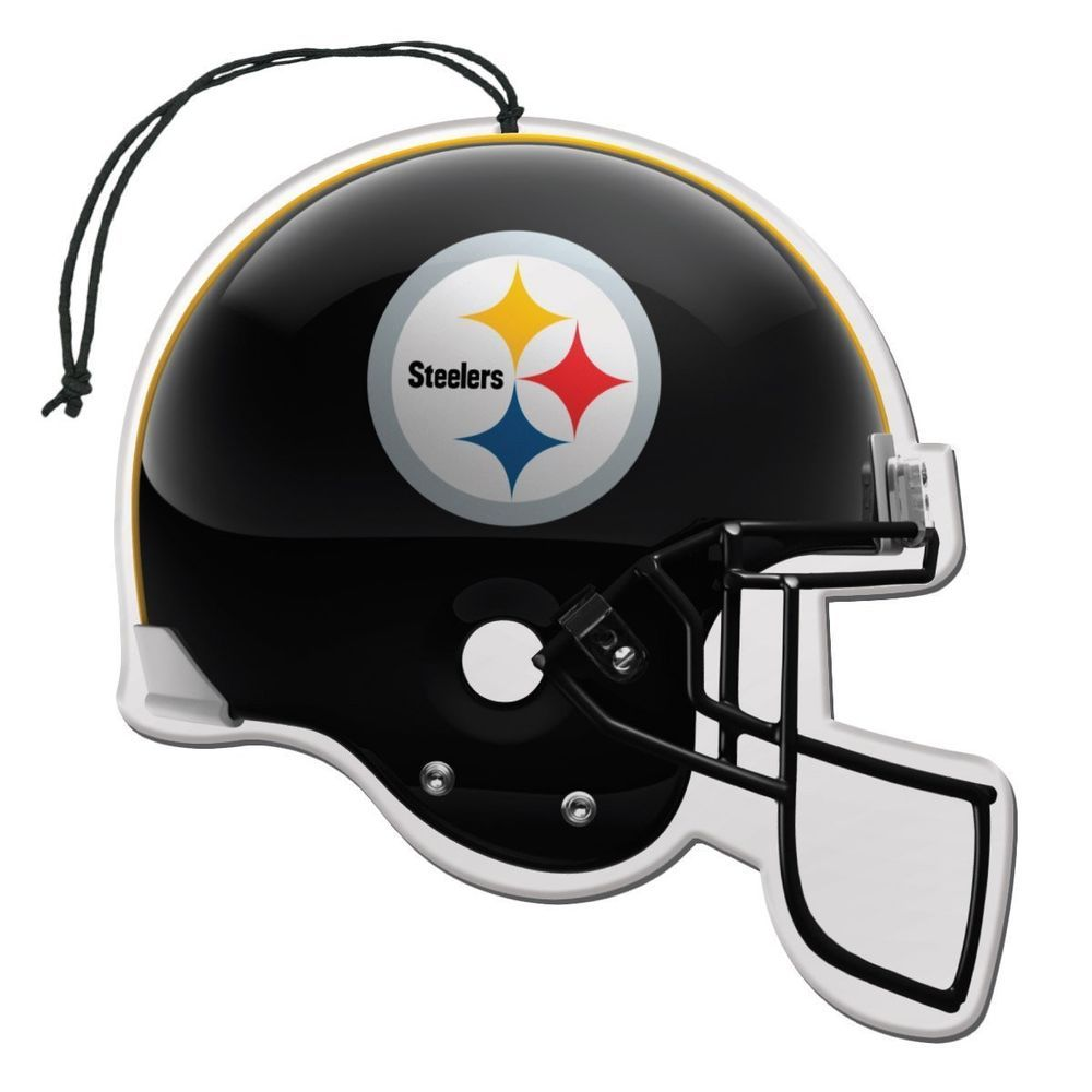 432b2616 NFL Football Team Pittsburgh Steelers Logo Auto Air Freshener Helmet ...
