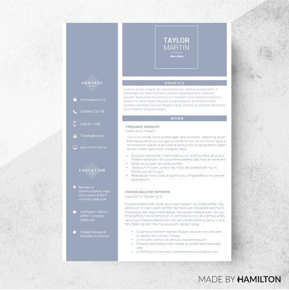 Sailor Resume Template Cover Letter  Template Design Resume And