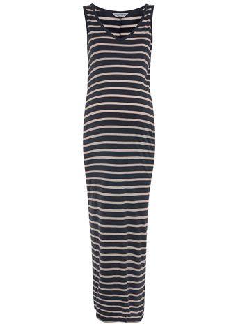 425af7b7373 Dorothy Perkins Maternity stripe maxi dress | Under $50 | Dresses ...