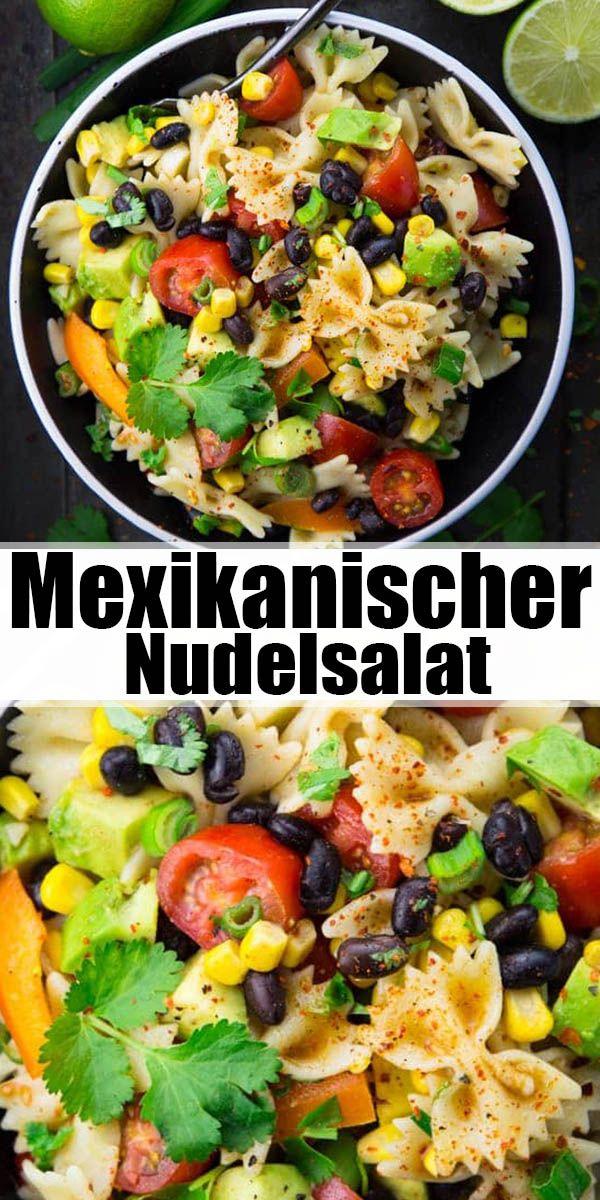 Veganer Nudelsalat #vegetarischerezepte