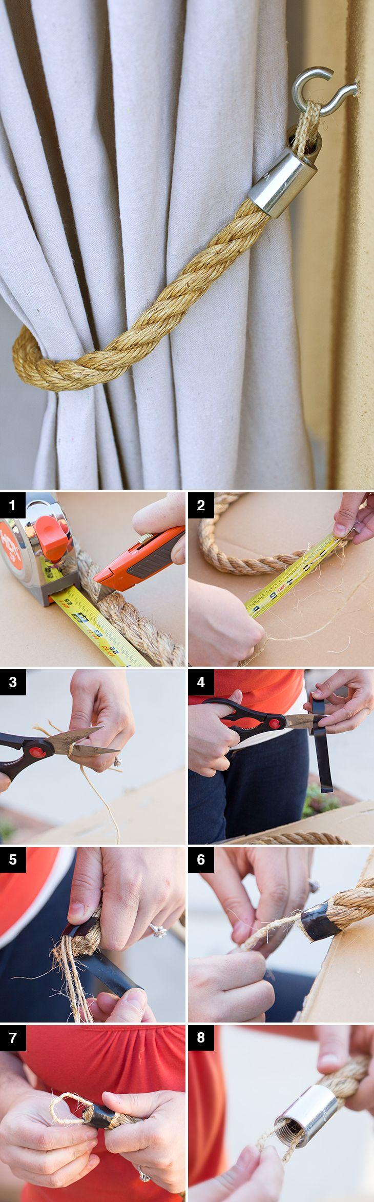 29 diy curtain tie backs ideas