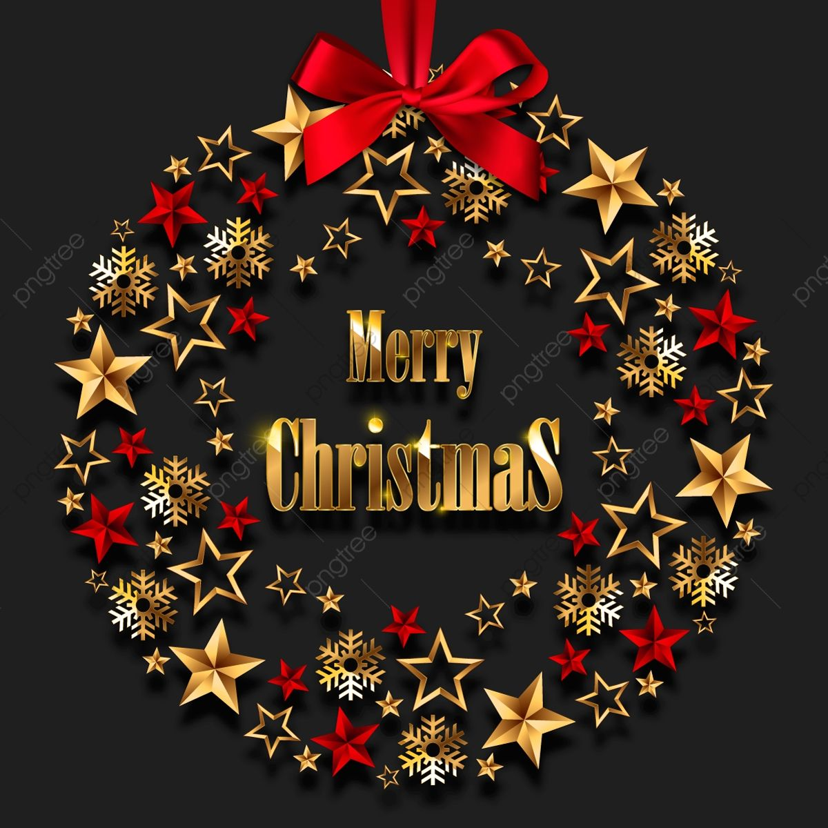 Download This Christmas Wreath With Golden Stars And Decorations Merry Christmas Backgro Christmas Wreaths Merry Christmas Wallpaper Merry Christmas Pictures