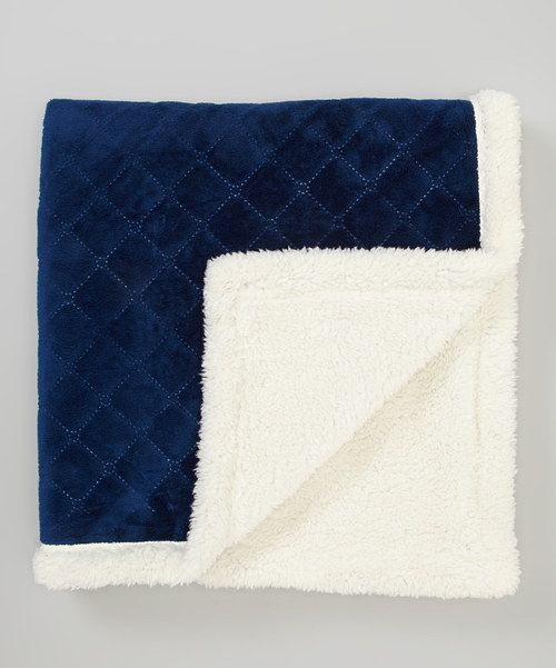 Take A Look At This Rugged Bear Navy Fleece Stroller Blanket On Zulily Today