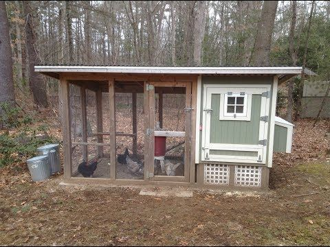 My Chicken Coop Features (Part 2/2) YouTube (With