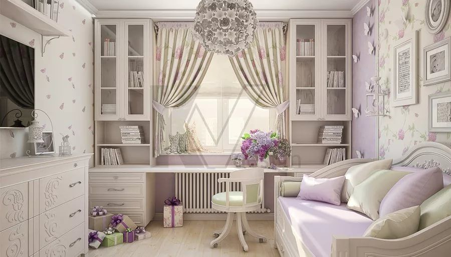 комната девушки в стиле прованс: 10 тыс изображений ...
