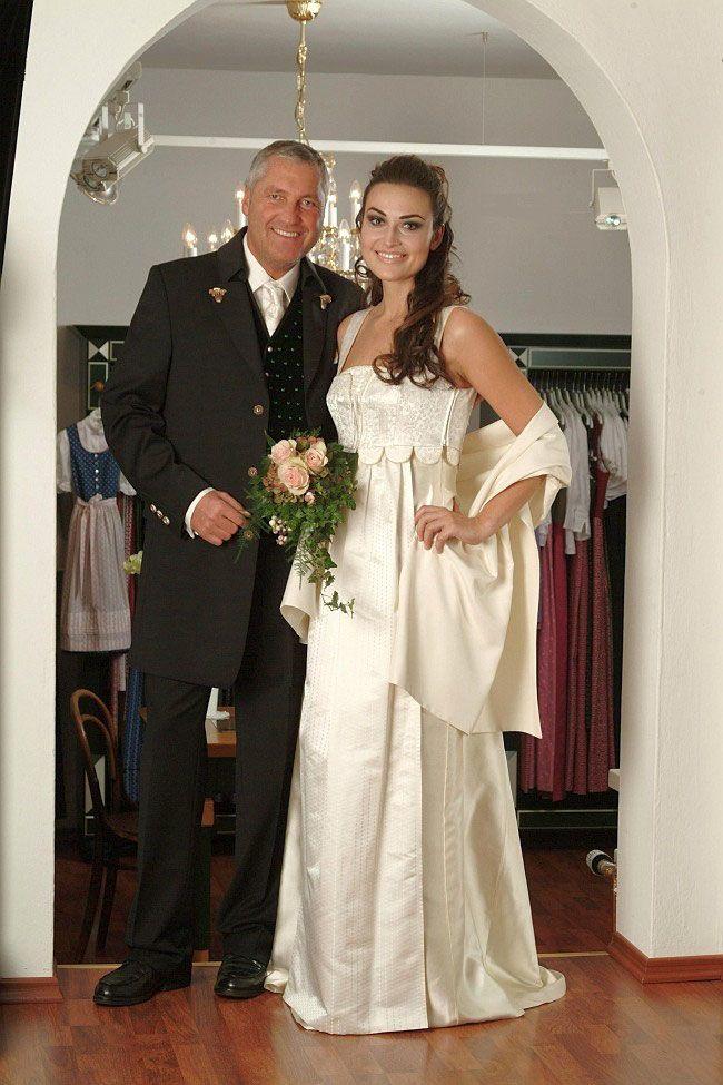 Gössl Hochzeitskleid Anna Plochl hell  (PROBIERKLEID)