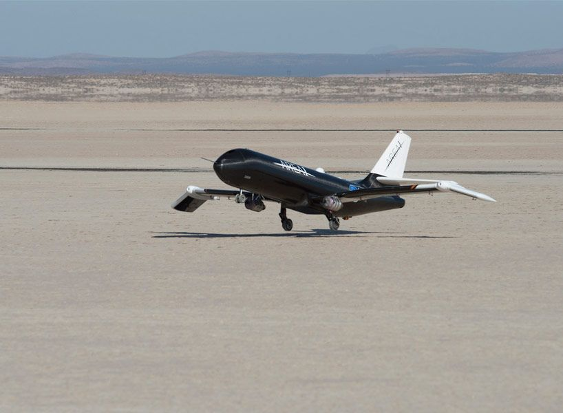 Nasa Tests In Flight Foldable Plane Wings At Supersonic Speeds Supersonic Speed Plane Wing Nasa