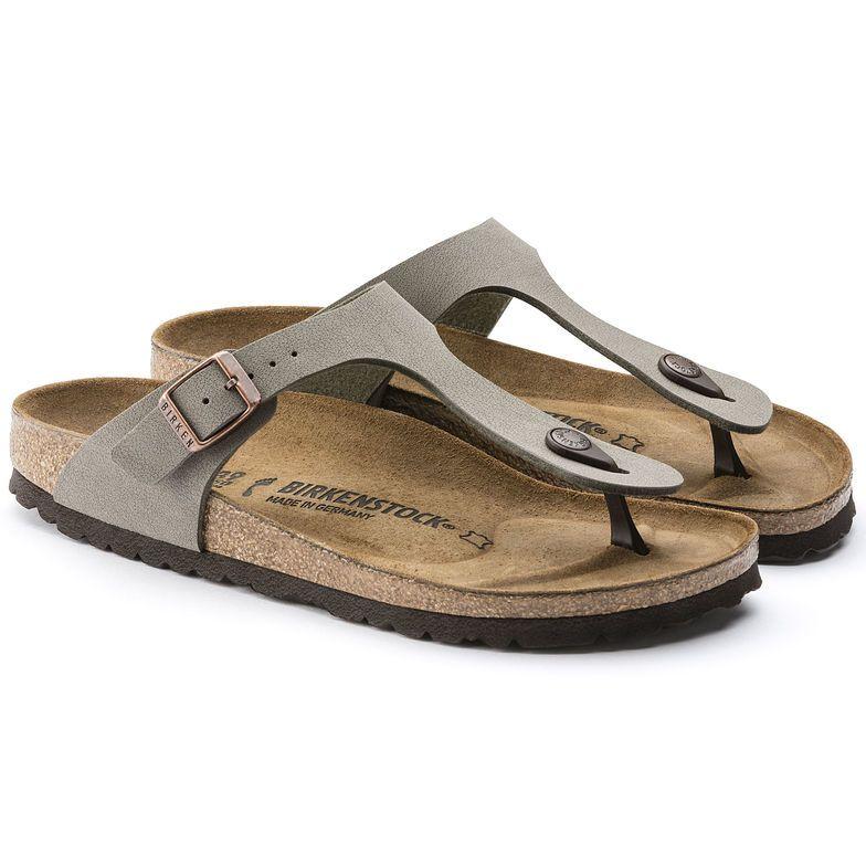 Gizeh Birko Flor Nubuck Birkenstock Sandals Leather