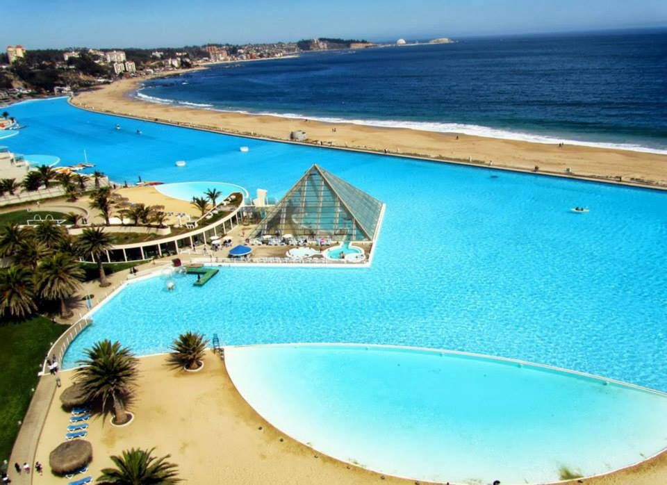 World 39 s largest swimming pool san alfonso del mar - The biggest swimming pool in chile ...