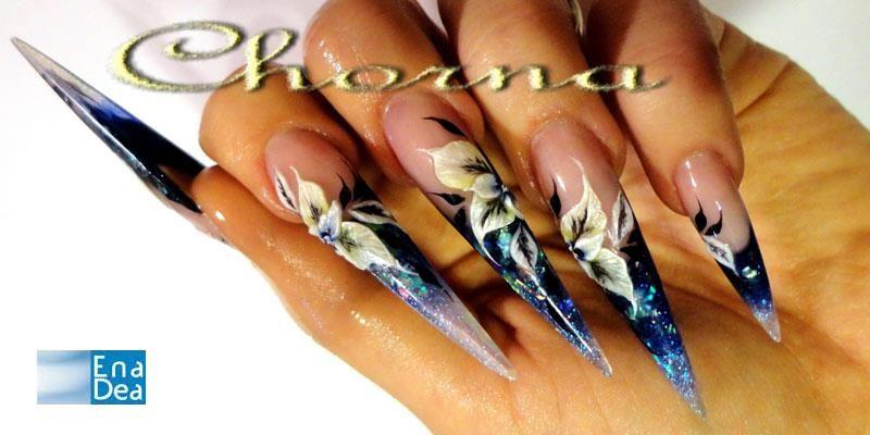 Pin by Nagy Donatella on Extreme nails | Pinterest | Stiletto nail art