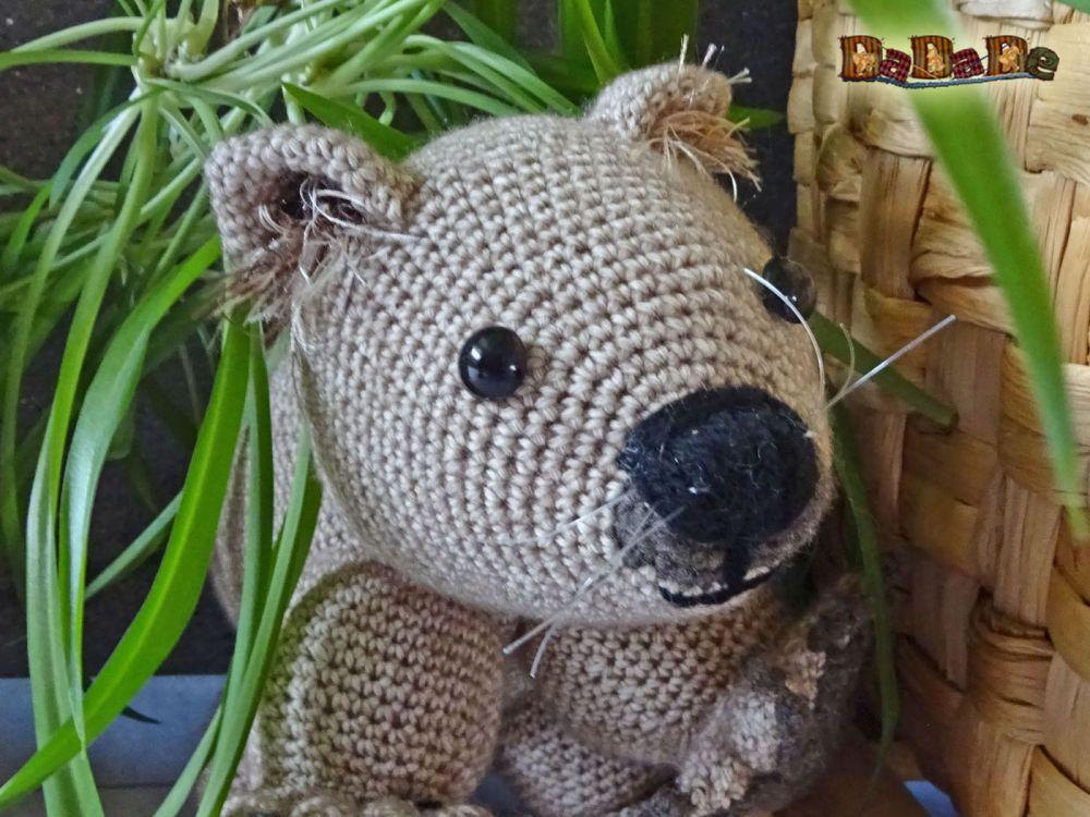 Wombat Womby aus Australien, Häkelanleitung von dadade - MyPatterns ...