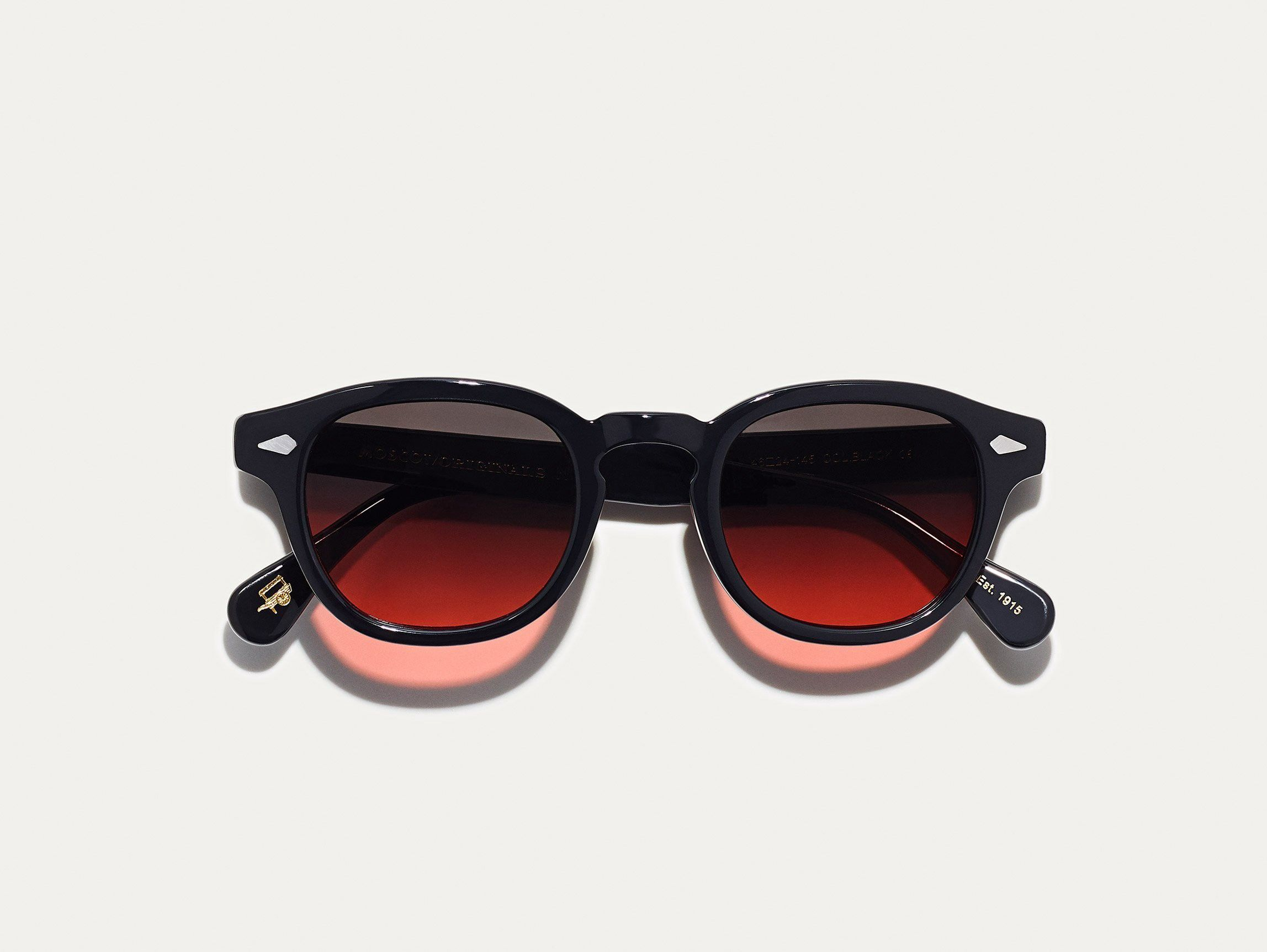 f15a3b6fe9 Moscot Lemtosh Black With Cabernet Tint - 44 | Products | Black ...
