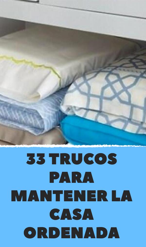 33 trucos para mantener la casa ordenada remedios - Trucos para tener la casa ordenada ...