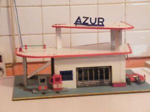 ancien rare garage station service azur
