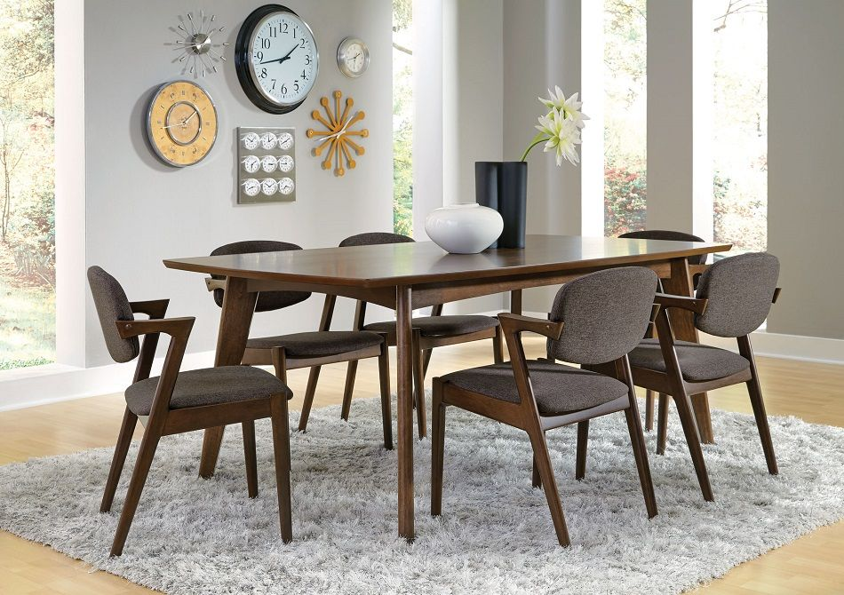 Malone Collection 105351 Dining Table Set Modern Dining Room Set Mid Century Modern Dining Room Modern Dining Room
