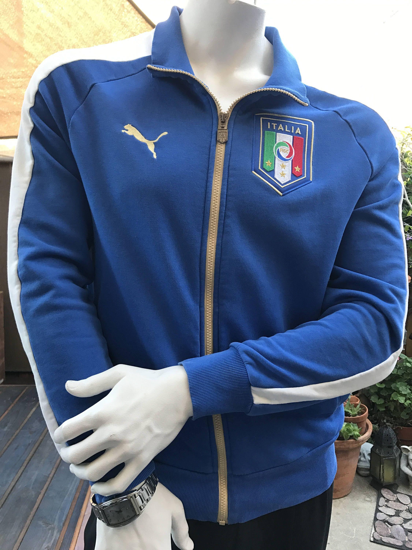 03c2a0e28cca6 Vintage 1990s Puma Italia Track Jacket/ Streetwear Sportswear Jacket ...