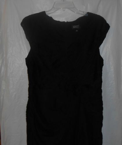 ADRIANNA PAPELL EVENING Black Semi-Formal Size 14 Dress Christmas Party Cocktail
