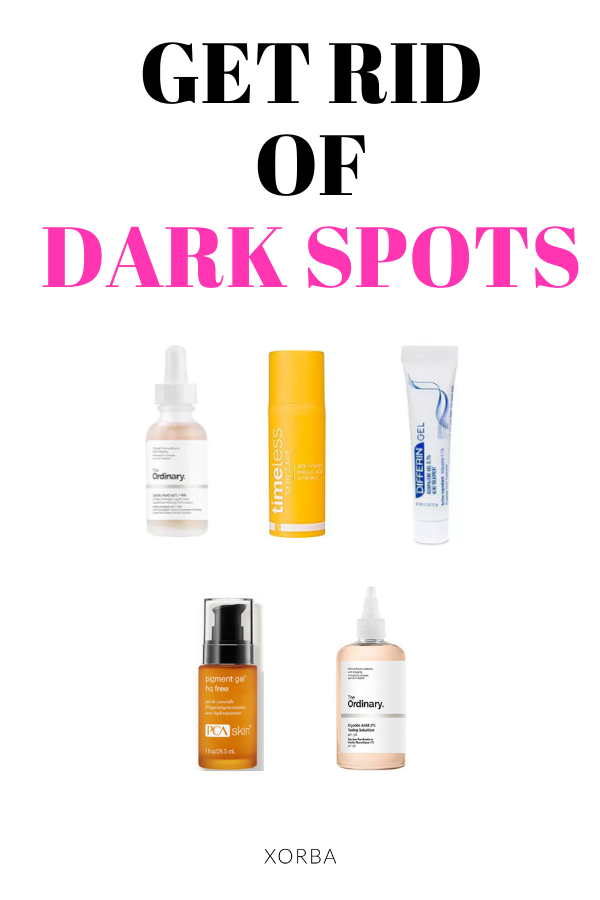 Treating Dark Spots From Acne And Sun Damage Fade Hyperpigmentation In 2020 Fading Hyperpigmentation Hyperpigmentation Post Inflammatory Hyperpigmentation