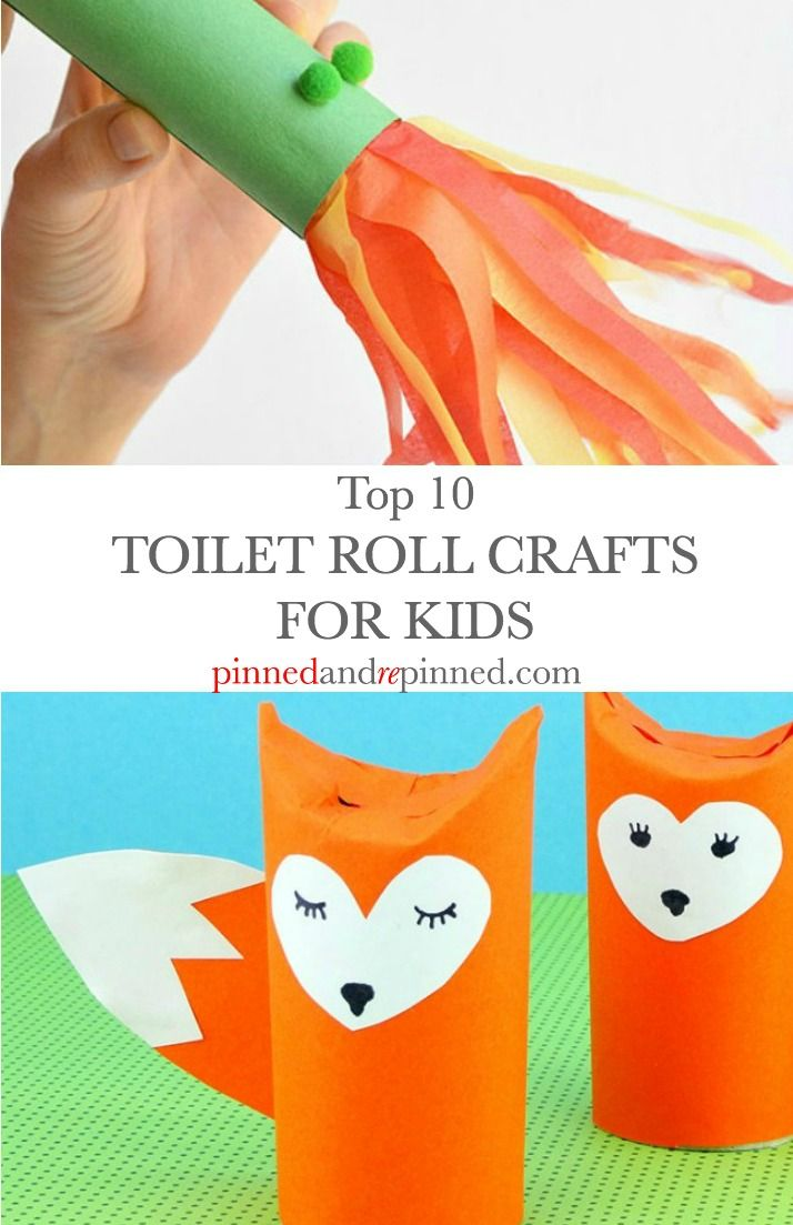 Top 10 Toilet Roll Crafts for Kids