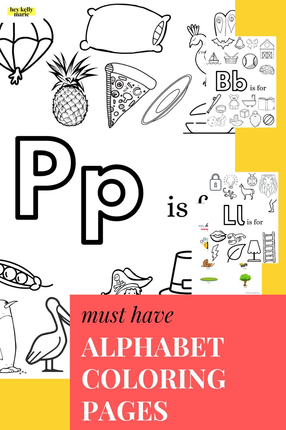 Free Printable A Z Alphabet Coloring Pages Hey Kelly Marie Alphabet Coloring Pages Coloring Pages Alphabet Coloring