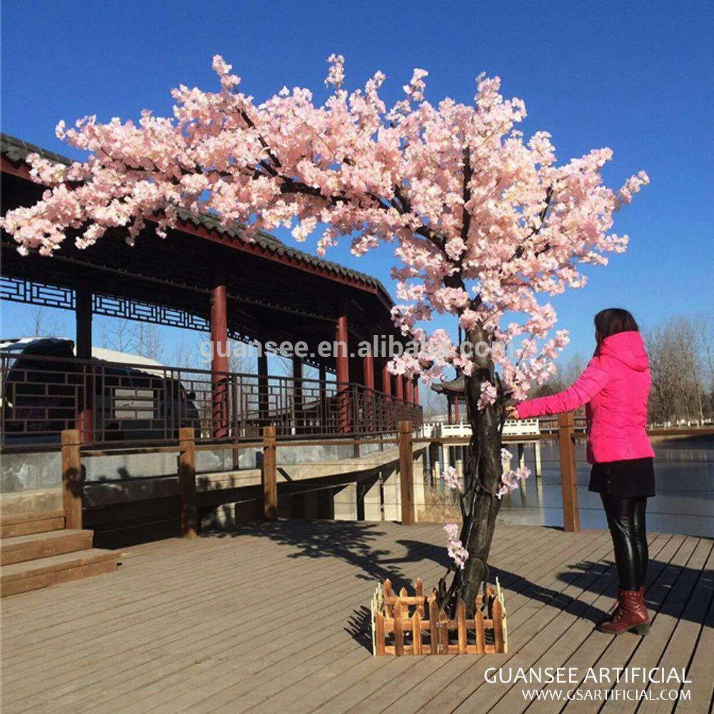 Wedding Decorative Pink Artificial Sakura Blossom Tree Us 359 438 Trees Wood Wood Blossom Tree Wedding Artificial Cherry Blossom Tree Pink Blossom Tree