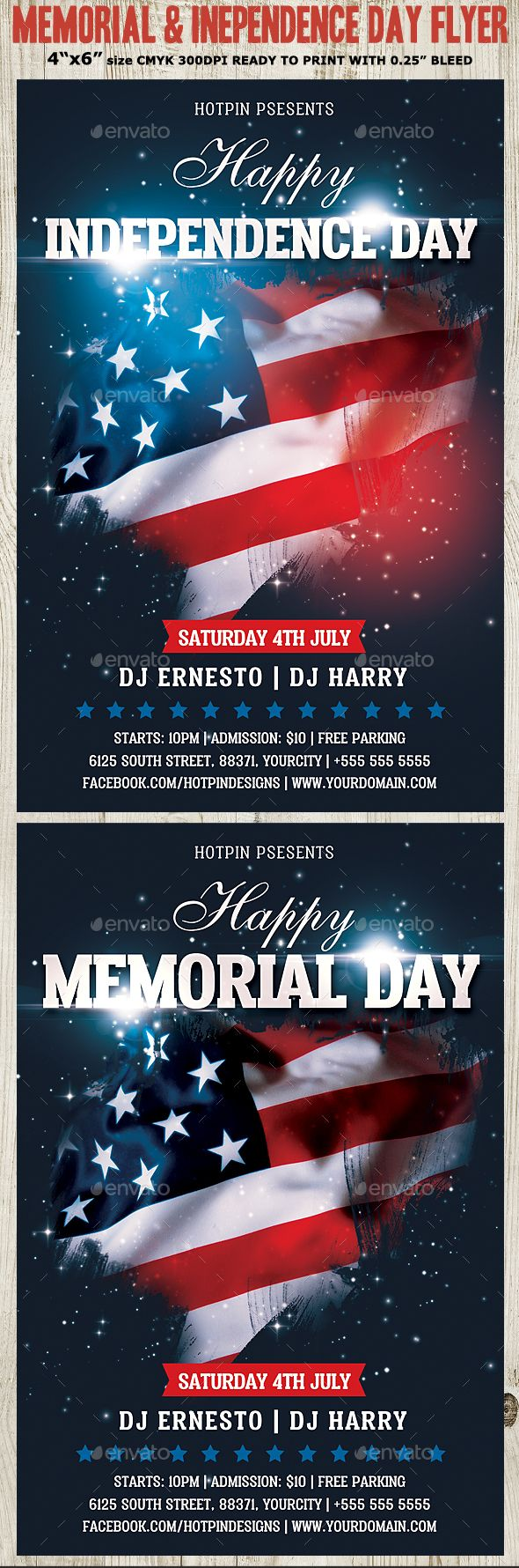 Independence Day Flyer | Memorial Independence Day Flyer Template Pinterest Flyer
