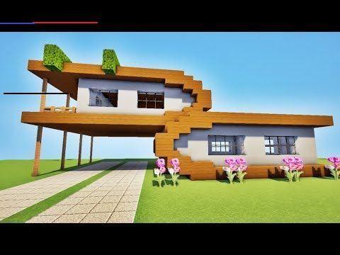 Tuto Maison Ultra Moderne Sur Minecraft Minecrafthouses En 2020 Maison Moderne Minecraft Maisons Ultra Modernes Maison Minecraft