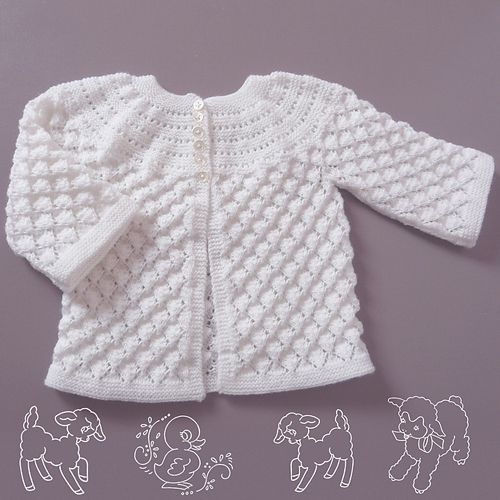 Lucille Knitted Baby Set Free Pattern Beautiful Skills Crochet