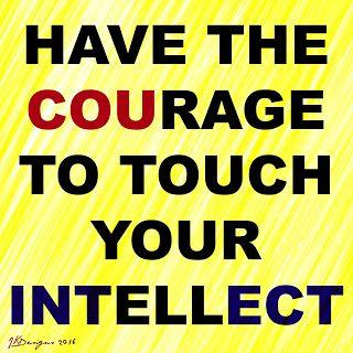 Mijn T-shirt-prints: The Courage