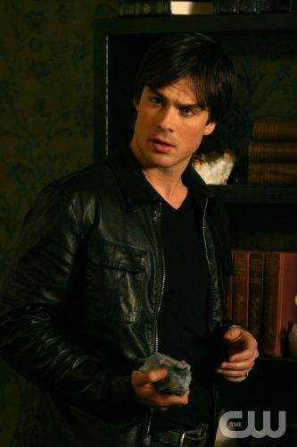 """""""Pilot""""- Ian Somerhalder as Damon Photo: Alan Markfield / The CW © 2009 The CW Network, LLC. All Rights Reserved. (1085)"""
