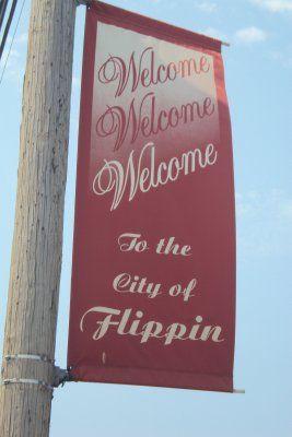 Flippin, Arkansas!