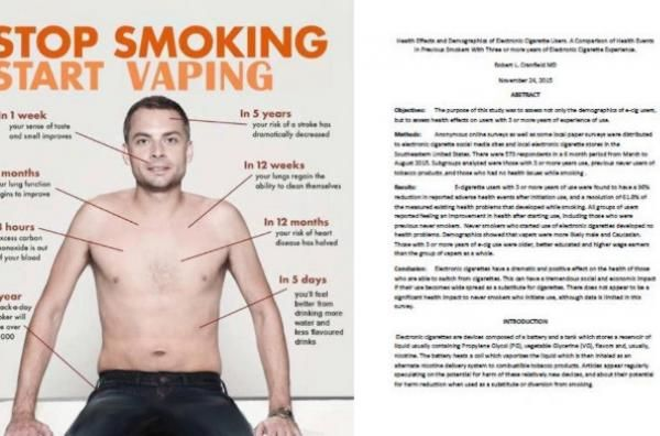 Positive effects of electronic cigarettes victory alpha cigarettes