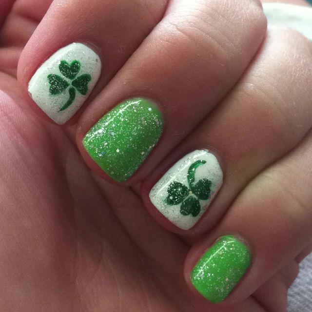 17 Gorgeous Nail Art Designs For St. Patrick\'s Day   Saints, Nail ...