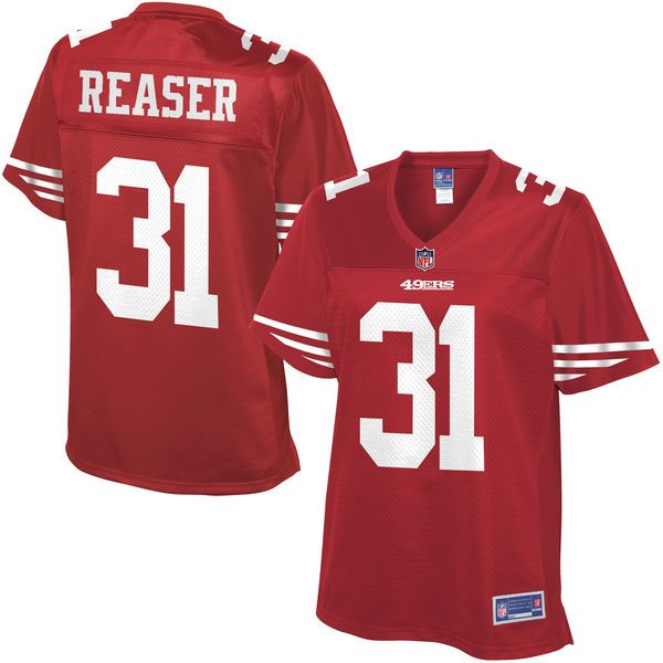 NFL Pro Line Women s San Francisco 49ers Keith Reaser Team Color Jersey -   99.99 0360a4a8d