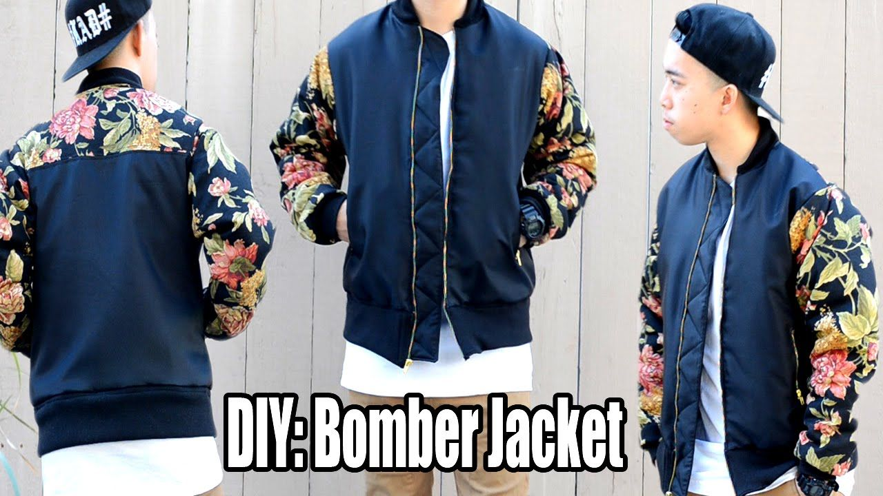 How To Make A Bomber Jacket From Scratch Looks Good On