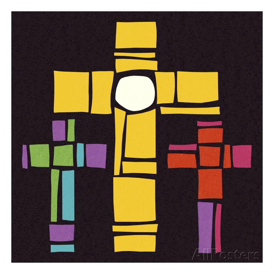 Three Crosses | Cross art and Third