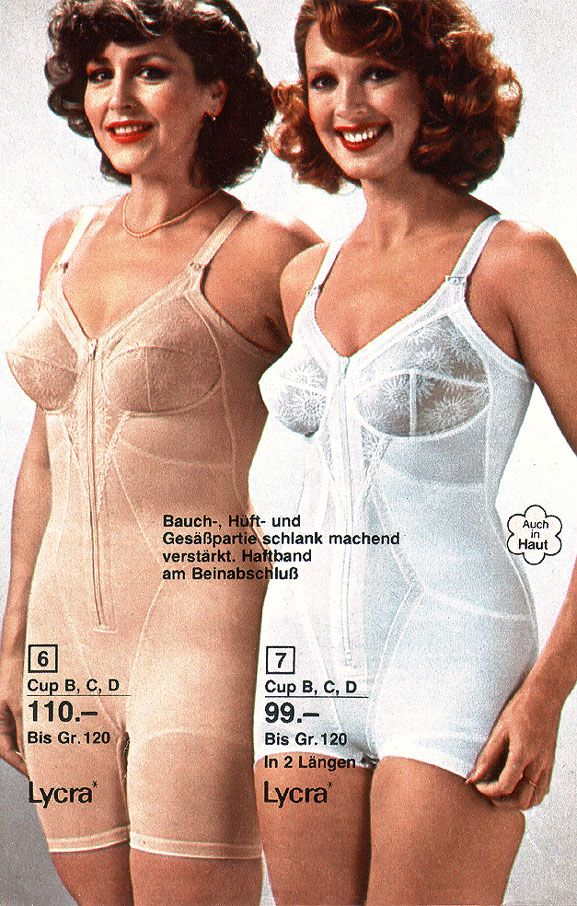 quality design beecd 0f34f Lycra girdels from Otto mail-order 1981 | Mail Order ...