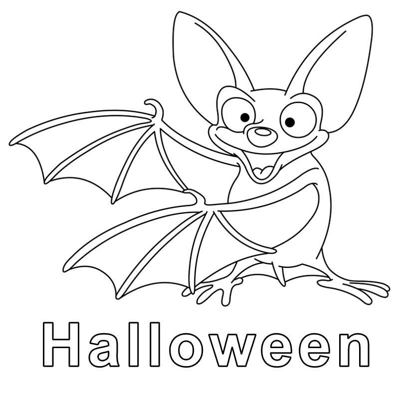 Ausmalbild Halloween Fledermaus Zum Ausmalen Kostenlos Ausdrucken Halloween Ausmalbilder Malvorlagen Halloween Ausmalbilder