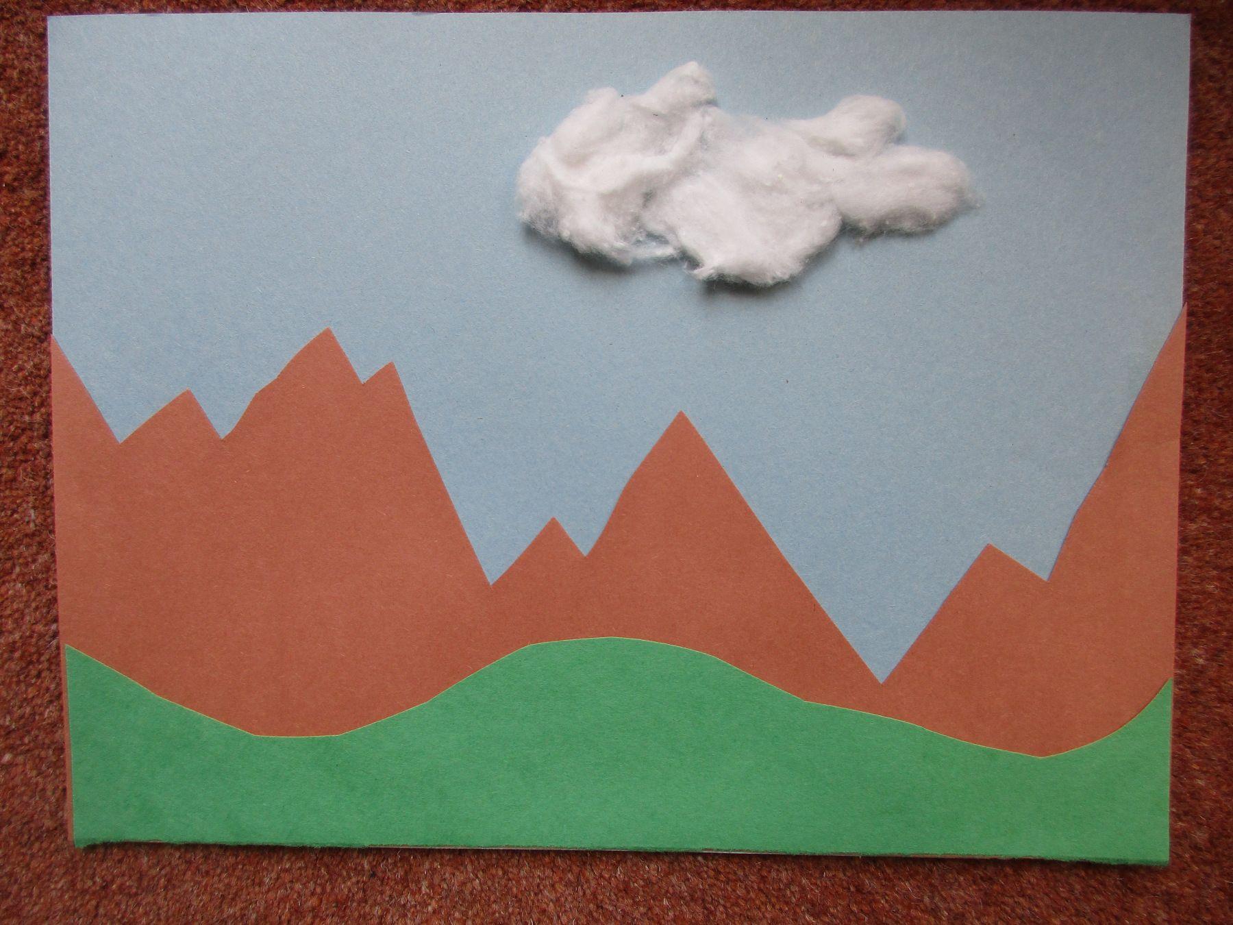 God Made The Land Toddler Kindergarten Preschool Craft Preschool