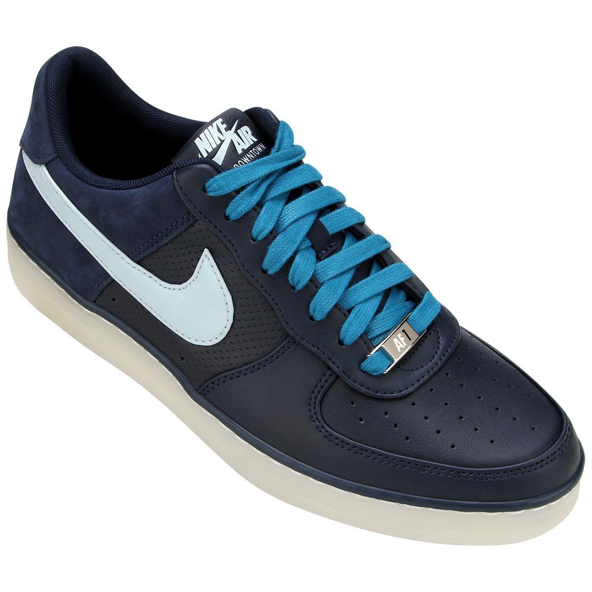 promo code b5c0f fa29f Tênis Nike AF1 Downtown   Netshoes Tenis Casual Adidas, Air Force Sneakers,  Nike Air