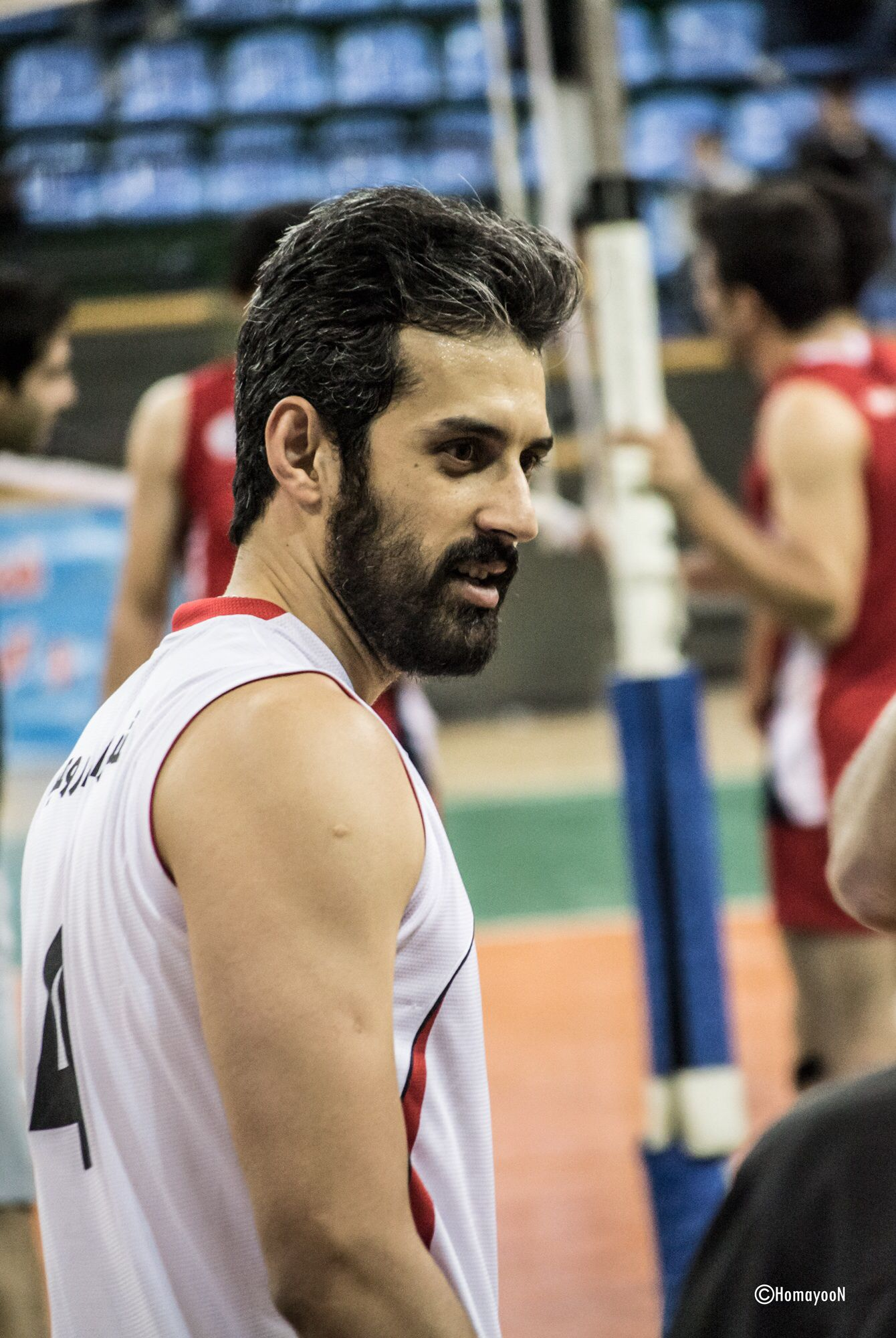 Saeed Maroof Photo By Hooman Volleyball Volleyball Players Players